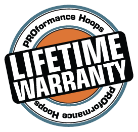 PH Lifetime warranty icon - basketball floor texture