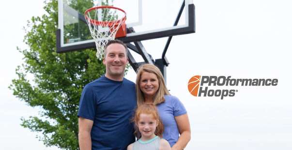 proformance hoops family - Installation